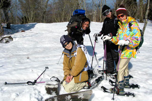Snowboard & Snow shoe tour img7